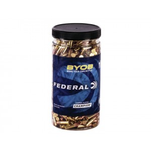 Federal 757BTL250 Small Game Target BYOB 22 Magnum 22 WMR 36 GR Jacketed Hollow Point (JHP) 250 Bx/ 8 Cs