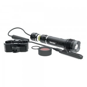 ALLIANCE CONSUMER GROUP 6652 LG400 Hands Free Clear/Red LED 40/400 Lumens AAA Battery Black Aircraft Grade Aluminum