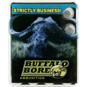 Buffalo Bore Ammunition 13B|20 480 Ruger 370 GR Lead Flat Nose 20 Bx| 12 Cs