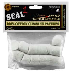 Seal 1 1008-250 Cleaning Patches 250 Count Cotton 0.88in.