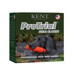 Kent Cartridge K1225PTFB ProTrial Field Blanks 12 Ga 2.5 25 Bx| 10 Cs in.