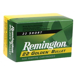 Remington Golden 22 Short 100rd Ammo