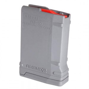 Amend2 556MOD2GRY10 Mod 2 for AR-15 223 Remington|5.56 NATO 10 Round Polymer Gray Finish