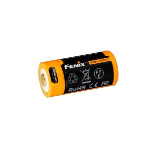 Fenix Flashlights 16340 (3.6V) 700U mAh USB Recharge. Bat.