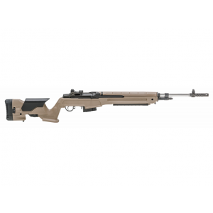 Springfield Armory MP9820C65 M1A Loaded Semi-Automatic 6.5 Creedmoor 22 10+1 Precision Adjustable Synthetic FDE Stk Black|Stainless Steel in.