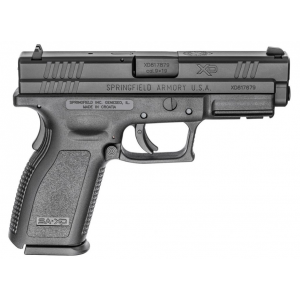 Springfield Armory XDD9101 XD Defender Service Model 9mm Luger Double 4 10+1 Black Polymer Grip|Frame Black Melonite Slide in.