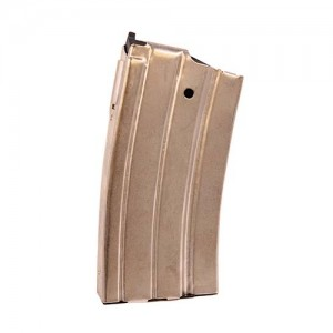 ProMag RUGA1N Ruger Mini-14 223 Remington 20 Round Steel Nickel Finish