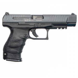 Walther Arms 2813734 PPQ M2 9mm Luger Double 5 15+1 Black Polymer Grip|Frame Grip Black Tenifer Slide in.