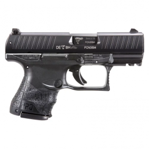Walther Arms 2829789 PPQ M2 Subcompact 9mm Luger Single 3.5 10+1 Black Interchangeable Backstrap Grip Black Slide in.