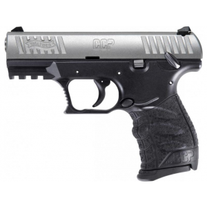 Walther Arms 5050501 CCP M2 9mm Luger Single 3.54 8+1 Black Polymer Grip|Frame Grip Stainless Steel Slide in.
