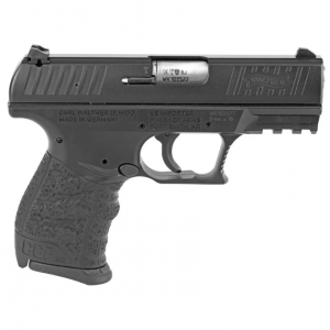 Walther Arms 5080500 CCP M2 9mm Luger Single 3.54 8+1 Black Polymer Grip Black Cerakote Slide in.