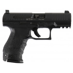 Walther Arms 2796066TNS PPQ M2 Double 9mm Luger 4 15+1 Black Interchangeable Backstrap Grip Black Tenifer in.