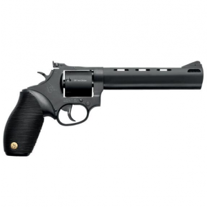 Taurus 2692061 692 Standard Single|Double 38 Special|357 Magnum|9mm 6.5 7 rd Black Ribber Grip Black Carbon Steel in.