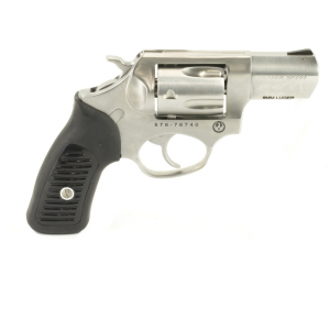 Ruger 5783 SP101 Standard Single|Double 9mm Luger 2.25 5 rd Black Rubber Grip Stainless Steel in.