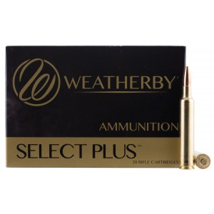 Weatherby Select, 6.5 Weatherby RPM, 140 Grain, Hornady InterLock, 20 rd Box