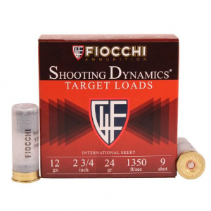 Fiocchi Ammo ShootingDynamics 12ga 2 3/4in 24gr 9/25