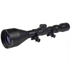Truglo TG85395XB Buckline Hunting Scope 3-9x 50mm Obj 41.47-12.67 ft @ 100 yds FOV 1 Tube Black Matte Finish BDC in.