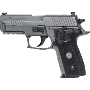 Sig Sauer 229RM9LEGION P229 Compact Legion *MA Compliant* 9mm Luger Single|Double 3.9 10+1 Black G10 Grip Gray PVD Stainless Steel Slide in.
