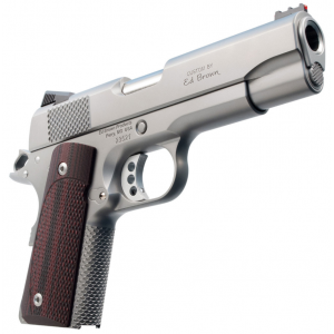 Ed Brown CCO18SS CCO  Single 45 Automatic Colt Pistol (ACP) 4.25 7+1 FOF Black VZ Grip Stainless Steel in.