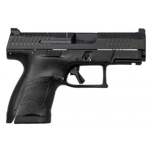 CZ 01540 P-10 Full Size 9mm Double 4.5 10+1 Black Interchangeable Backstrap Grip Black Fiber Reinforced Polymer Frame Black Nitride Slide in.
