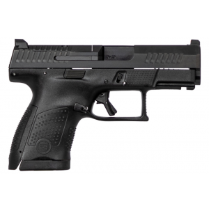 CZ 01541 P-10 Full Size 9mm Double 4.5 10+1 Flat Dark Earth Polymer Frame Black Nitride Slide in.