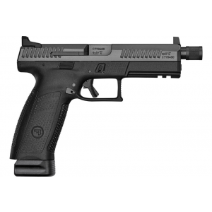 CZ 01543 P-10 Full Size 9mm Double 4.5 10+1 Black Interchangeable Backstrap Grip Black Fiber Reinforced Polymer Frame Black Nitride Slide in.