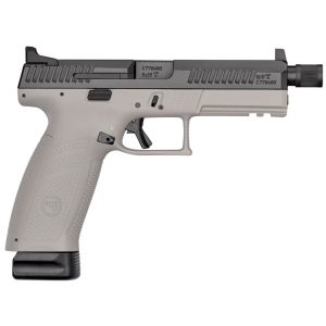 CZ 01544 P-10 Full Size 9mm Double 4.5 10+1 Gray Polymer Frame Black Nitride Slide in.