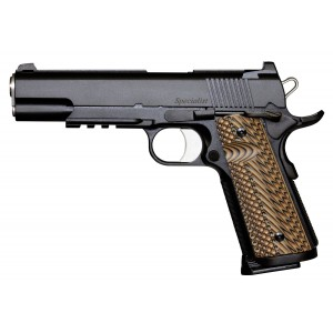 Dan Wesson 01801 Specialist 45 ACP 5in. 8+1 Black Stainless Steel Black/Brown G10 Grip
