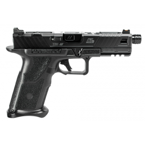 ZEV OZ9STDBBTH OZ9 Standard 9mm Luger Double 4.49 17+1 Black Polymer Grip Steel Frame Black Slide in.
