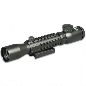 Sun Optics Tri Rail Riflescope 3-9X32 Tactical W/Picatinny/Mil Dot/IR Reticle CS12-RM3932IR