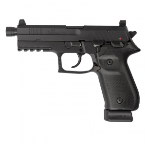 Arex REXZERO1T-01 Rex Zero Tactical Single|Double 9mm Luger 4.9 TB 20+1 Black Polymer Grip Black in.