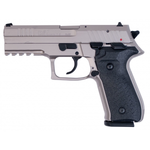 Arex REXZERO1S-06 Rex Zero 1 Standard 9mm Luger Single|Double 4.25 17+1 Black Polymer Grip Nickel in.