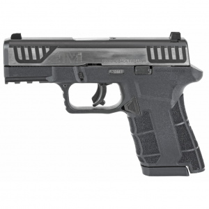 Diamondback DBAM29SL DBAM29 Sub-Compact Double 9mm Luger 3.5 15+1|10+1 Black Polymer Grip|Frame Grip Stainless Steel|Black Nitride Accents in.