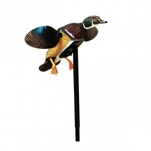MOJO Outdoors HW2472 Elite Series Woody Motion Decoy w/Stand