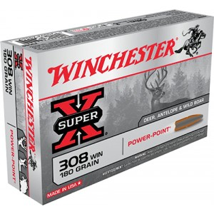 Winchester Power Max Bonded 308 Winchester 20rd Ammo