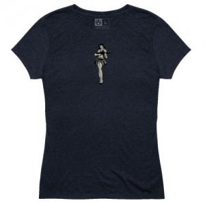 Magpul MAG1124-410-M Hula Girl Navy Medium Short Sleeve