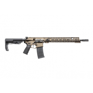 Patriot Ordnance Factory  Renegade Plus Semi-Automatic 223 Remington|5.56 NATO 16.5 30+1 Mission First Black Stk Burnt Bronze in.