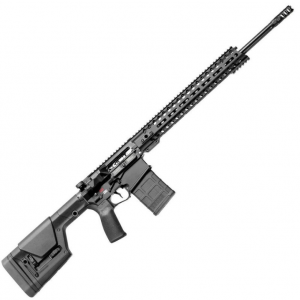 Patriot Ordnance Factory  Revolution Gen4 Semi-Automatic 6.5 Creedmoor 20 20+1 6-Position MFT Minimalist Black Stk Black Hardcoat Anodized in.