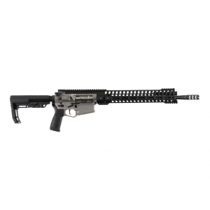 Patriot Ordnance Factory  Revolution Gen4 Semi-Automatic 6.5 Creedmoor 20 20+1 6-Position MFT Minimalist Black Stk Burnt Bronze in.