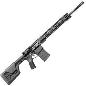 Patriot Ordnance Factory  Revolution Gen4 DIR Semi-Automatic 6.5 Creedmoor 20 20+1 6-Position MFT Minimalist Black Stk Black Hardcoat Anodized in.