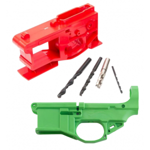 Polymer80 P80NKITZMB G150 Phoenix2 AR-15 80% Lower Receiver Kit AR Platform Multi-Caliber Green