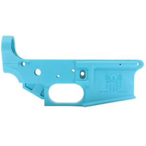 FMK Firearms AR-1, Lower, AR-15, Stripped, Polymer Receiver, Blue Jay Color FMKGAR1ETB