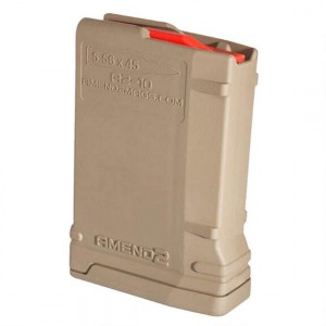 Amend2 556MOD2FDE10 Mod 2 for AR-15 223 Remington|5.56 NATO 10 Round Polymer Flat Dark Earth Finish