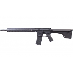 LWRC ICDIR5B16CM Individual Carbine Competition Semi-Automatic 223 Remington|5.56 NATO 16.1 30+1 Magpul MOE Black Stk Black Hardcoat Anodized in.