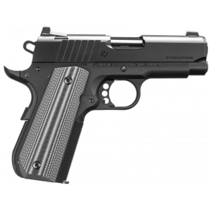 Remington Firearms 96493 1911 Ultralight Executive Single 45 Automatic Colt Pistol (ACP) 3.5 7+1 Gray G10 Grip Black PVD Coated in.