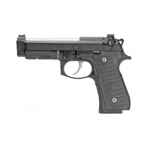 Beretta USA J92G9LTTM 92G Elite LTT 9mm Luger Single|Double 4.7 15+1 Black Polymer Grip Black Steel Frame Black Slide in.