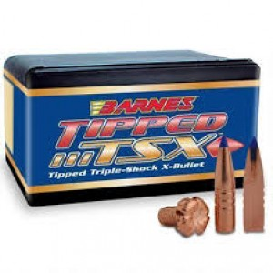 Barnes Bullets 30188 Rifle 22 Caliber .224 62 GR TTSX BT 50 Box