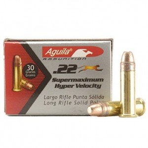Aguila Supermaximum 22 Long Rifle 50rd Ammo