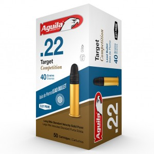 Aguila Target Competition 22 Long Rifle 50rd Ammo