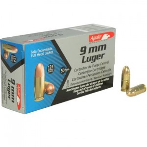 Aguila Centerfire Pistol 9mm Luger 50rd Ammo